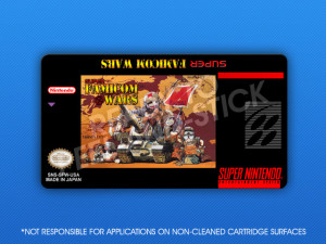 SNES - Super Famicom Wars Label