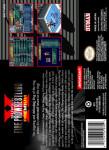 SNES - Super Fire Pro Wrestling X Premium (back)