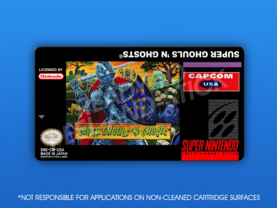 Super Ghouls 'n Ghosts Label