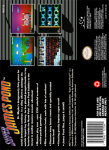 SNES - Super James Pond (back)