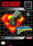 SNES - The Death and Return of Superman (front)