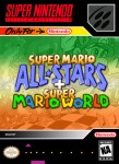 SNES - Super Mario All Stars + Super Mario World (front)