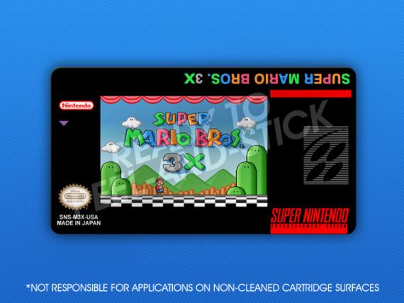 SNES - Super Mario Bros. 3X