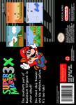 SNES - Super Mario Bros. 3X (back)