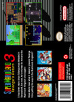 SNES - Super Mario Land 3: Tatanga's Return (back)