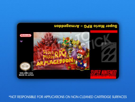 SNES - Super Mario RPG Armageddon