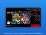 SNES - Super Metroid Z-Factor Label