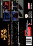 SNES - Super Metroid Z-Factor (back)