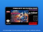 SNES - Super Probotector Label