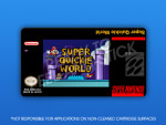 SNES - Super Quickie World Label