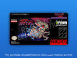 SNES - Super R-Type Label
