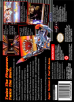 SNES - Super Turrican 2 (back)
