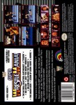 SNES - WWF Super Wrestlemania (back)