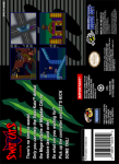 SNES - SWAT Kats: The Radical Squadron (back)
