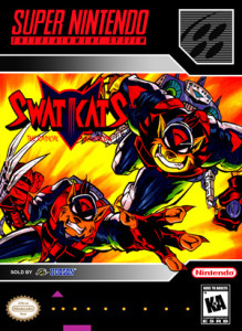 SNES - SWAT Kats: The Radical Squadron (front)