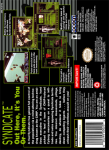 SNES - Syndicate (back)