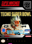 SNES - Tecmo Super Bowl (front)
