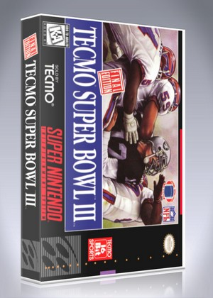 SNES - Tecmo Super Bowl III