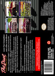 SNES - The Duel: Test Drive II (back)