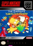 SNES - The Simpsons Bart's Nightmare (front)