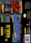 SNES - Incredible Hulk, The (back)
