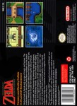 SNES - Legend of Zelda: A Link to the Past, The (back)