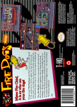 SNES - Ren & Stimpy Show: Fire Dogs, The (back)