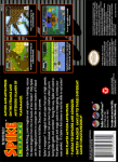 SNES - Twisted Tales of Spike McFang, The (back)