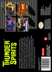 SNES - Thunder Spirits (back)