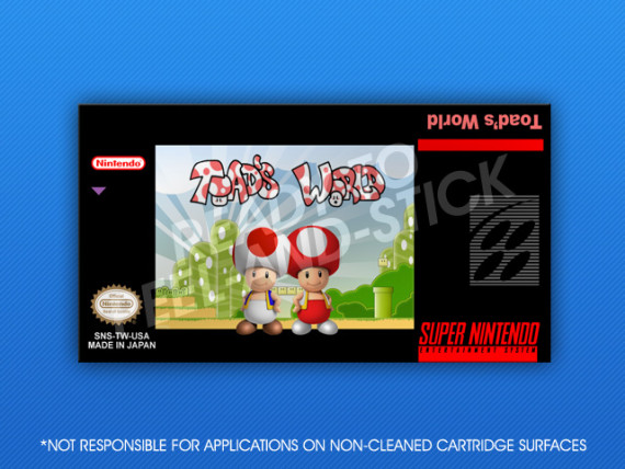 SNES - Toad's World