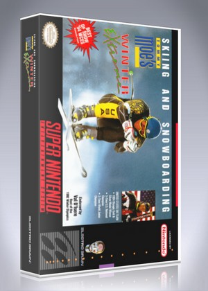 SNES - Tommy Moe's Winter Extreme (back)