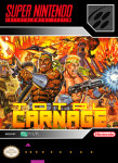 SNES - Total Carnage (front)