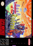 SNES - Treasure of the Rudras (front)
