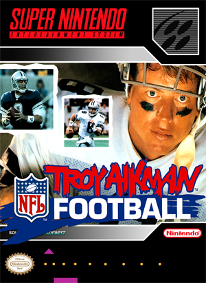 Troy Aikman Football (front)
