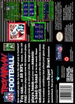 SNES - Troy Aikman Football (back)