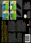 SNES - True Golf Classics: Pebble Beach Golf Links (back)