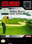 SNES - True Golf Classics: Pebble Beach Golf Links (front)