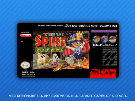 SNES - Twisted Tales of Spike McFang
