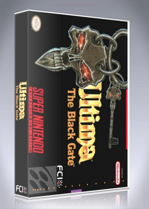 SNES - Ultima VII: The Black Gate