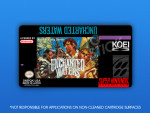 SNES - Uncharted Waters Label