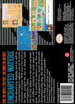 SNES - Uncharted Waters (back)