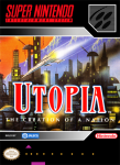 SNES - Utopia: The Creation of a Nation (front)