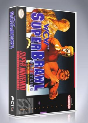 SNES -WCW Super Brawl