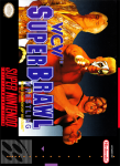 SNES -WCW Super Brawl (front)