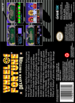 SNES - Wheel of Fortune Deluxe Edition (back)