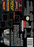 SNES - Williams Arcade's Greatest Hits (back)