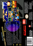 SNES - Wing Commander: The Secret Missions (back)