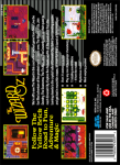 SNES - Wizard of Oz, The (back)