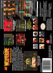 SNES - Wolverine: Adamantium Rage (back)