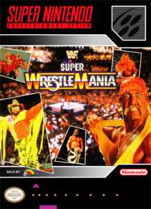 SNES - WWF Super Wrestlemania (front)